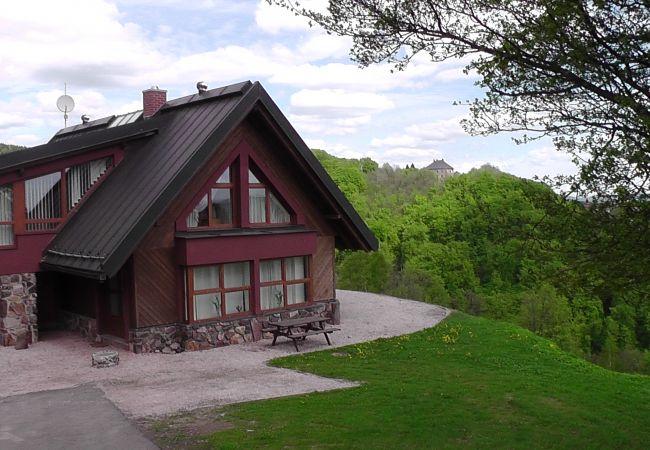Villa en Žaclér - Zacler, vakantievilla met sauna KZW240